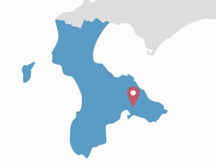 施工対応エリアのマップ